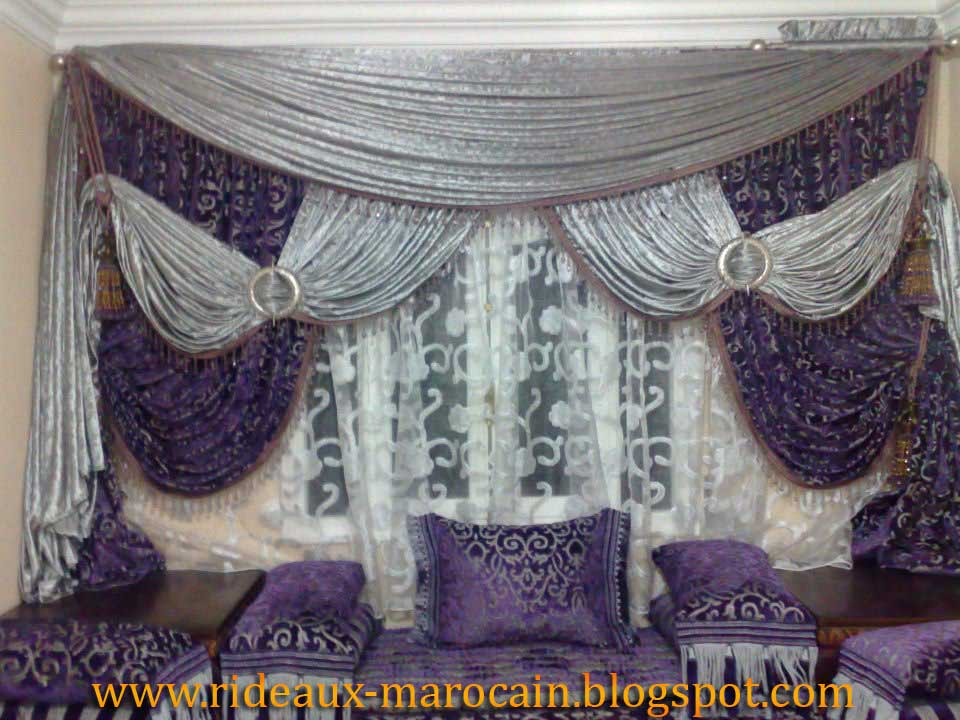 rideaux marocain double rideau marocain de r ve. Black Bedroom Furniture Sets. Home Design Ideas