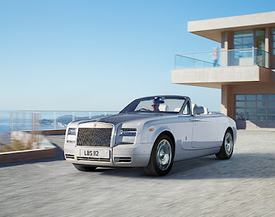 luxury vehicles -rolls royce drophead