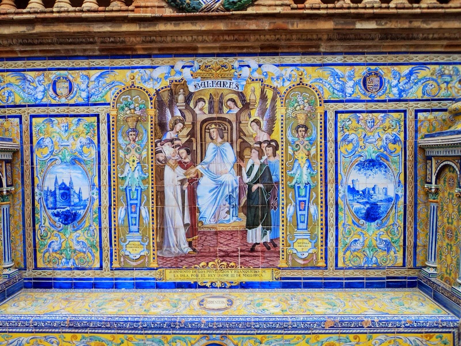 El poder del arte enrique orce m rmol for Azulejos antiguos sevilla