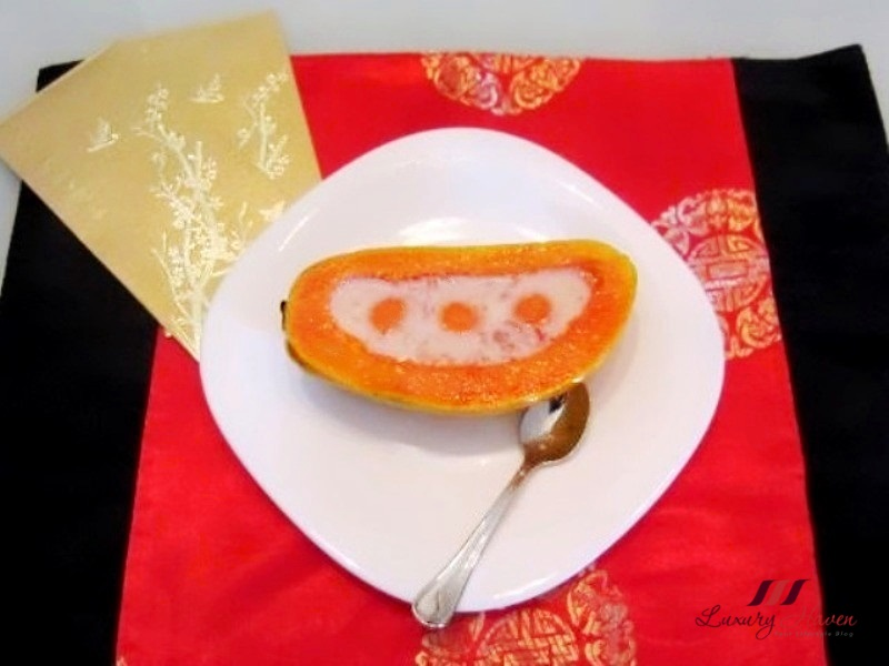 chinese new year birds nest hawaiian papaya recipes