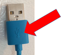 USB on top of cord - One Cool Tip - www.onecooltip.com