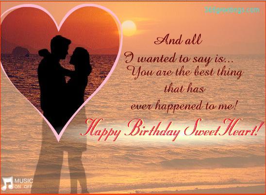 Birthday Quotes For Girlfriend Romantic : Funny love sad birthday sms wishes to husband