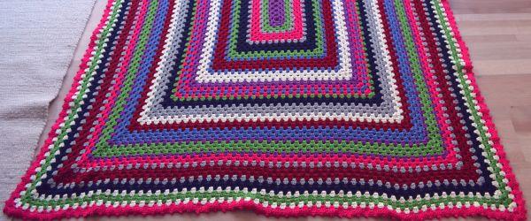 Windsbraut bastelt: Decke fertig | Afghan done