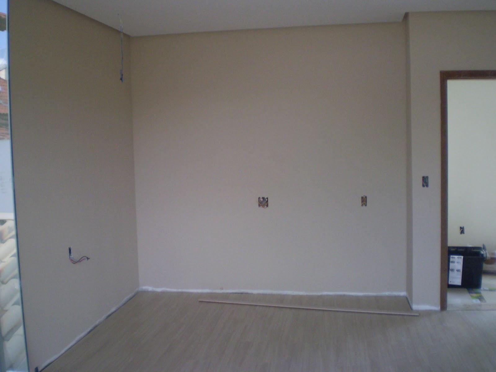 Casa da Áurea Atualizando a obra Painel da cozinha e  ~ Quarto Casal Cor Branco Gelo