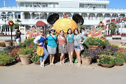 Back to our day at Downtown Disney. The five of us strolled around going in . (dsc)
