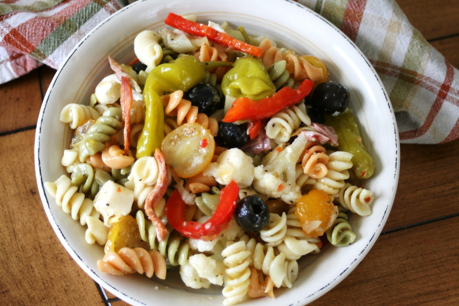 Thee Cook: Antipasto Pasta Salad