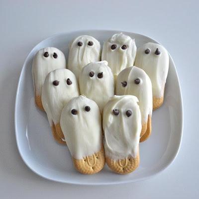 Halloween - bolacha fantasma