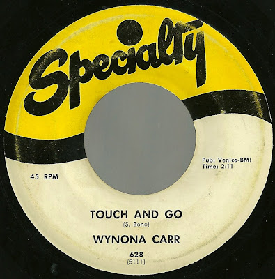Wynona Carr - Touch And Go - The Things You Do To Me