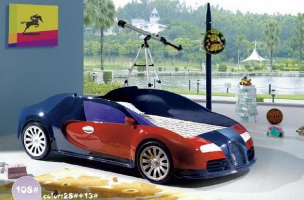 Decoraciones y modernidades dise a y decora modernos camas coche para ni os 2012 - Cama coche para ninos ...