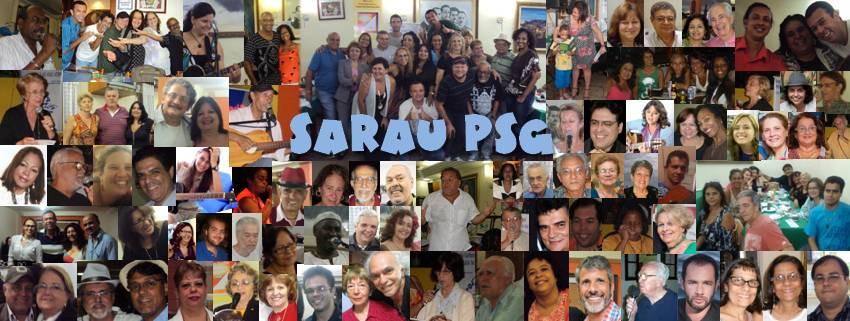 Mosaico de amigos do SARAU PSG