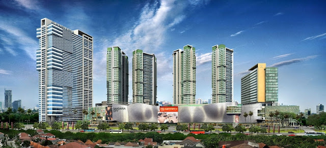gandaria city - info proyek