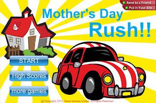 mother's day rush flash game screenshot