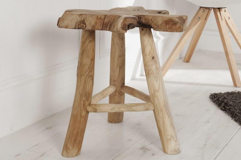 dizajnovy nabytok z dreva v natural prevedení