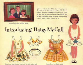 Free Betsy McCall Paper Dolls