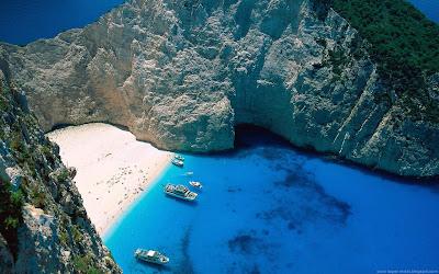 Plaja Navagio Grecia
