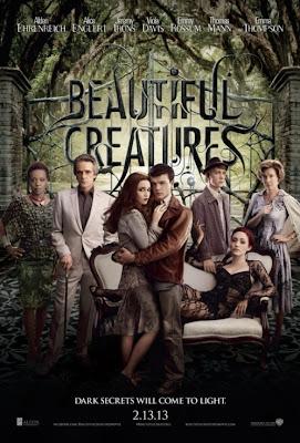 Beautiful Creatures 2013 film movie poster large