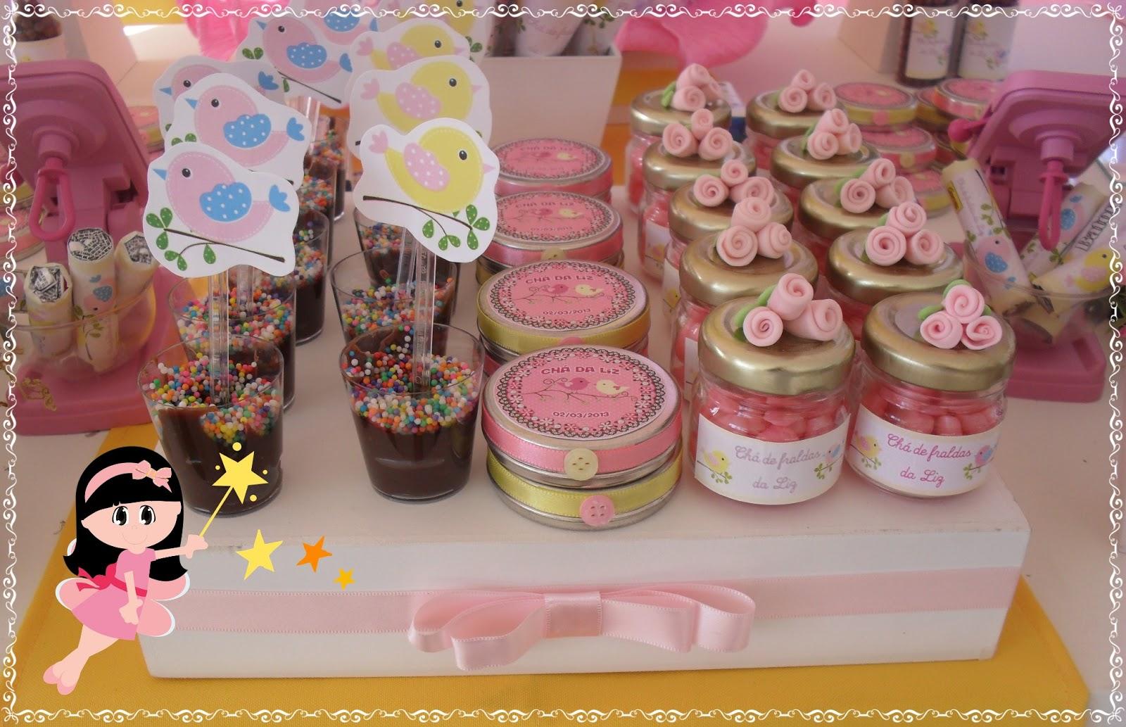 de Condão Festas e Decorações Decoração Chá de Bebê Jardim