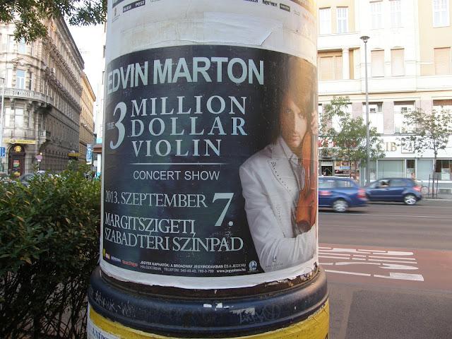 Csűry Lajos, Edvin Marton, Stradivari