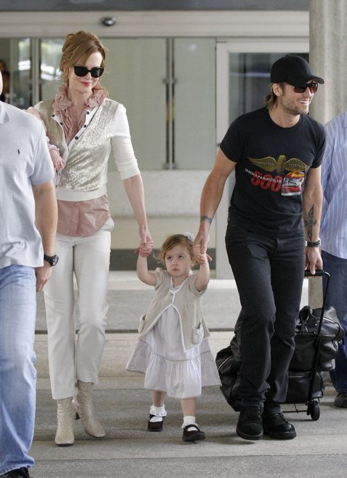 Tom Cruise Nicole Kidman And Keith Urban Children