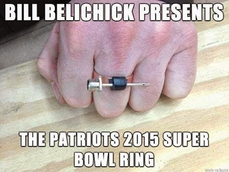 bill belichick presents the patriots 2015 super bowl ring