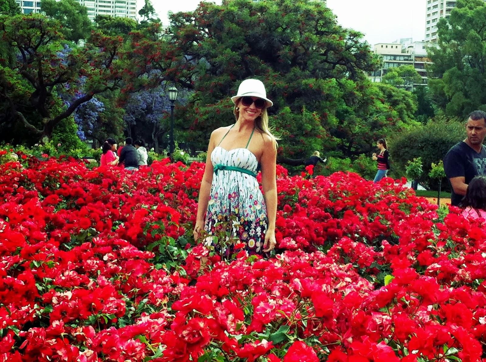 Simone Malagoli El Rosedal, o Jardim das Rosas de Buenos Aires