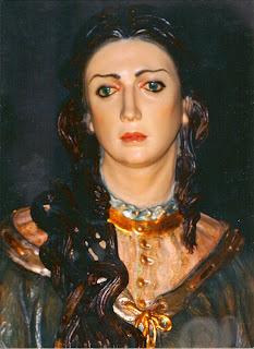 Unción de Jesús en Betania. Carmen Carrillo. Cieza (MURCIA)
