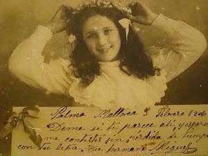 mi chacha mariana, de 12 años