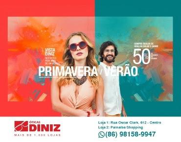 ÓTICA DINIZ - Primavera/Verão