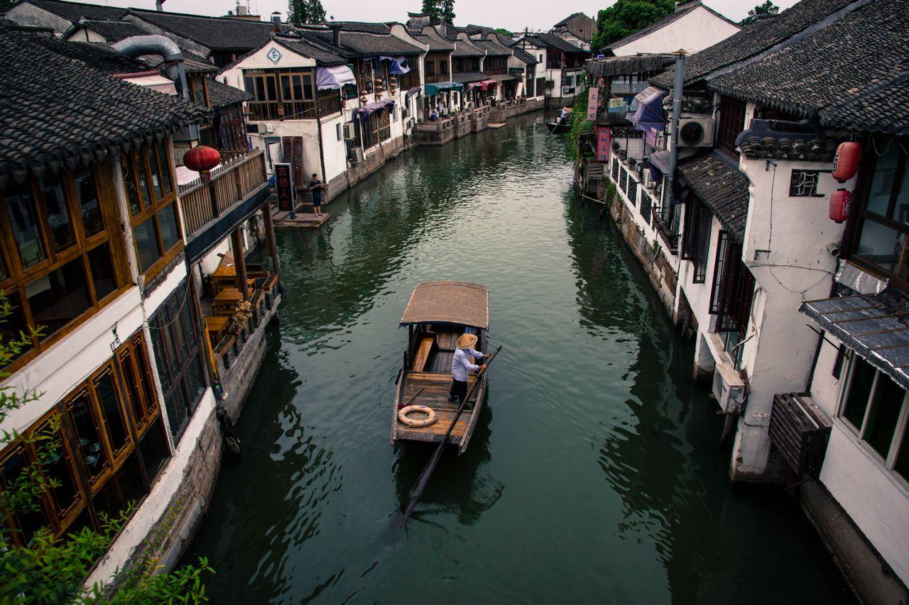 Zhujiajiao region in Shanghai