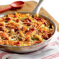 key ingredient skillet 4 cheese pasta