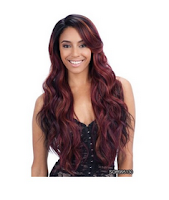Freetress Equal Synthetic Deep Invisible Part Lace Front Wig SUZIE