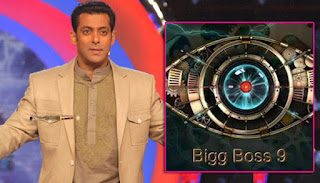 Bigg Boss 9 Logo and Salman Khan host the show