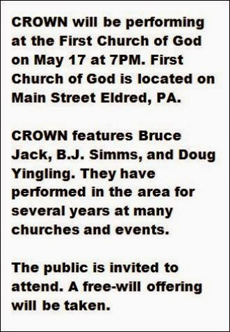 5-17 Crown Performing At First Church Of God