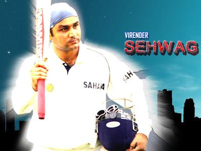 Virender Sehwag Wallpapers 2010