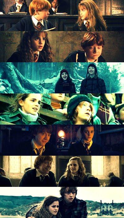 Hermione e Rony