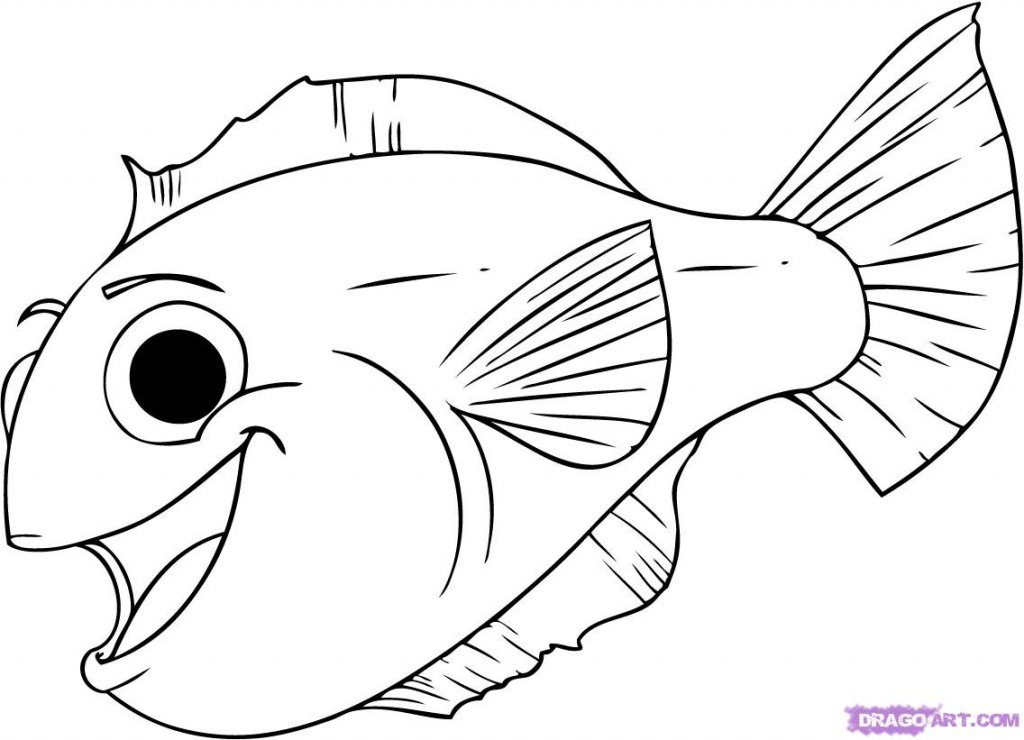 Inkspired musings what to do with all those easter eggs for Cartoon fish drawing