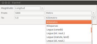 Convertir unidades en Ubuntu, convertir magnitudes ubuntu