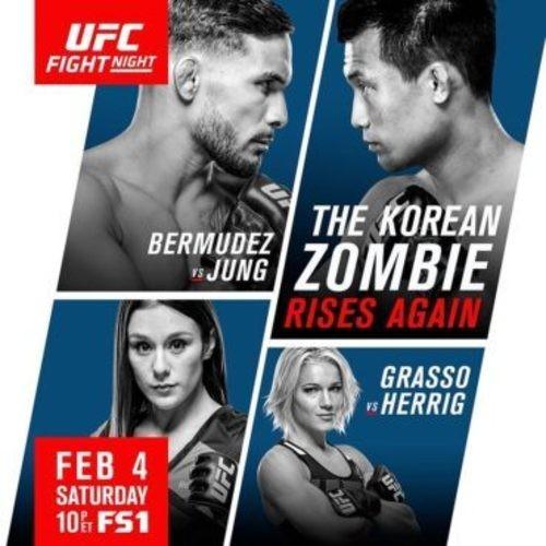 Watch UFC Fight Night 104 Bermudez vs Korean Zombie Online Free 2016 Putlocker