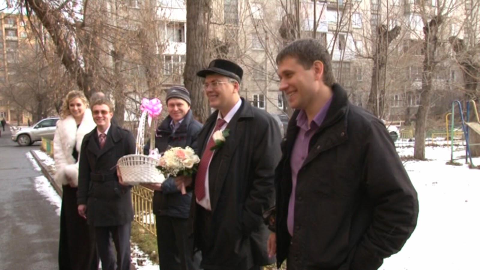 видеосъемка выкупа невесты