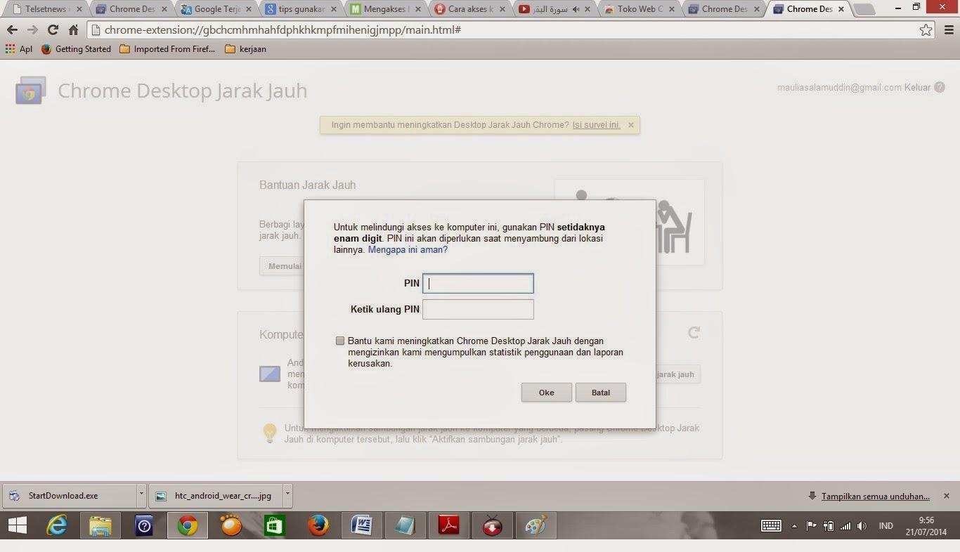 Aplikasi Wifi Jarak Jauh Pc