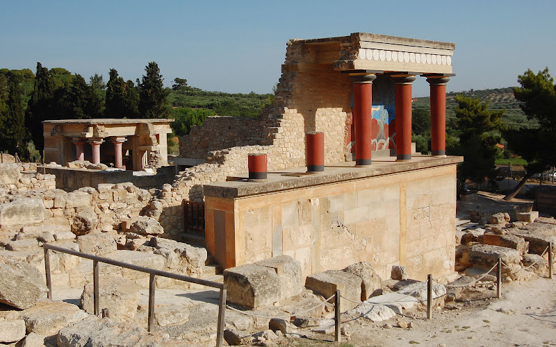 TOP WORLD TRAVEL DESTINATIONS: Palace of Knossos, Crete