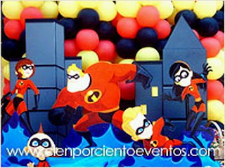 Kids Party Decoration, The Incredibles