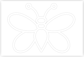 butterfly free hand embroidery pattern