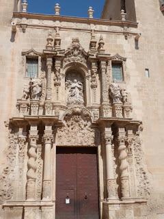 Basilica in Alicante, Spain