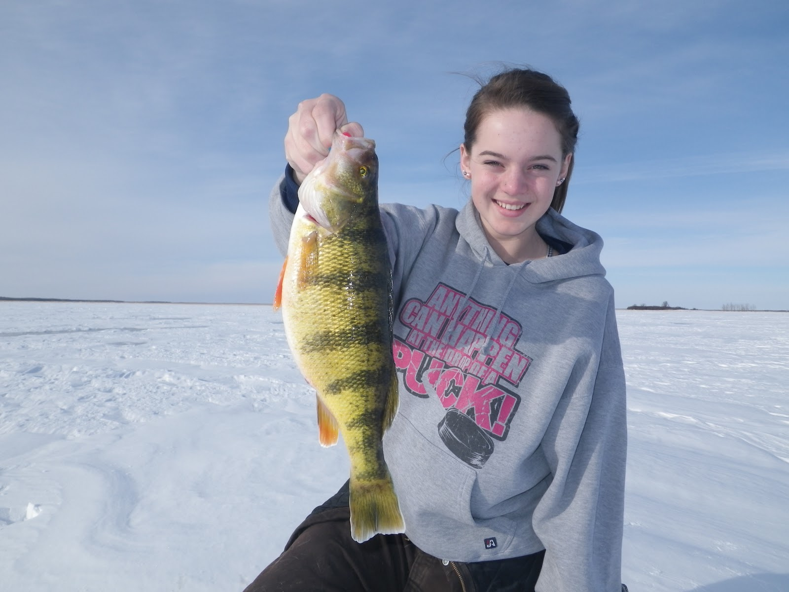 The complete angler ice fishing season is right around for Lake winnipeg fishing