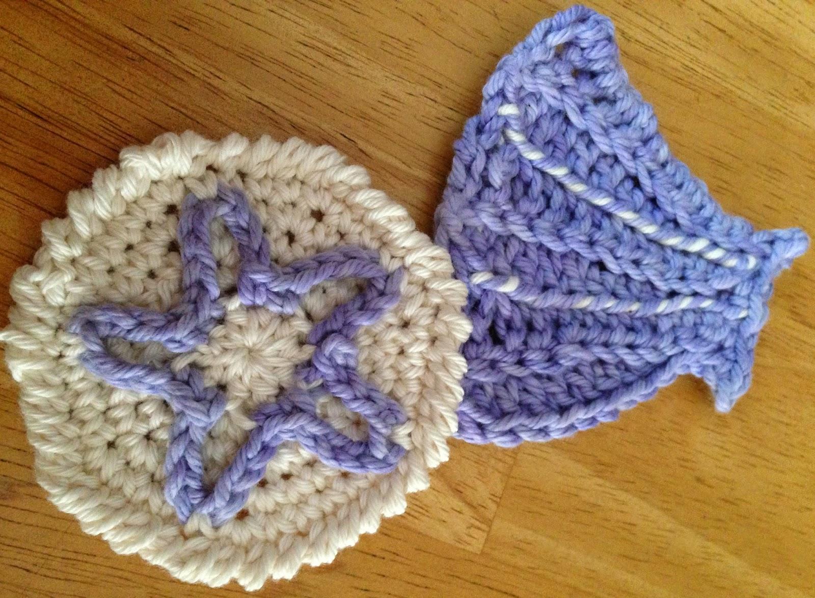 Crochet Sea Motifs Free Patterns : Das Crochet Connection: Sea Shell Motifs/Garland #2