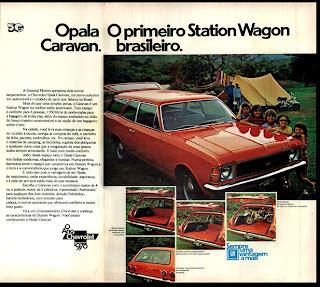 propaganda Caravan - 1975. brazilian advertising cars in the 70. os anos 70. história da década de 70; Brazil in the 70s; propaganda carros anos 70; Oswaldo Hernandez;