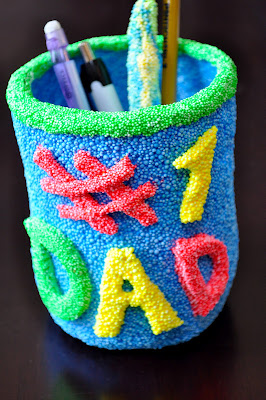 #1 Dad pencil holder
