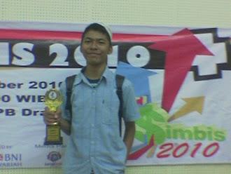 1st winner | simbis ja titan @ ipb 2010