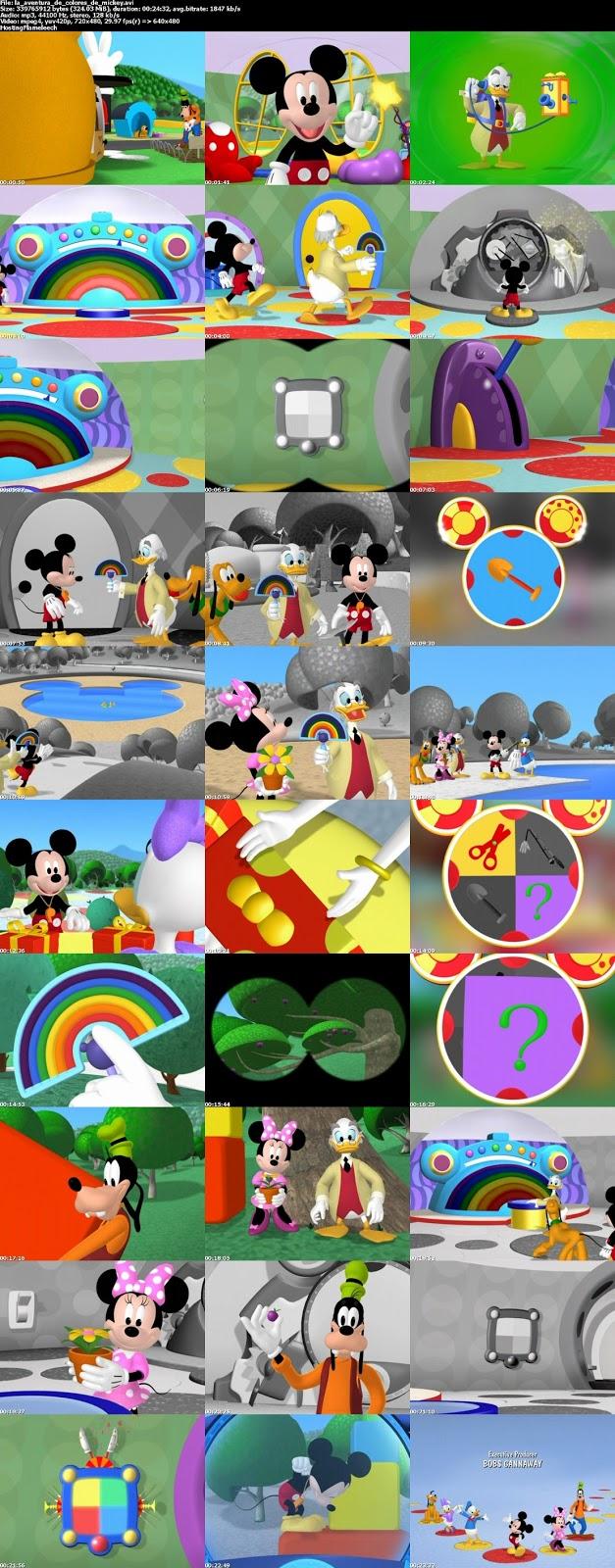 Sekai-DibujosAnimados: La casa de Mickey Mouse: Aventura de colores ...